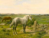 ¿Puede darse algo más triste que un caballo parado en medio de un cuadro?
