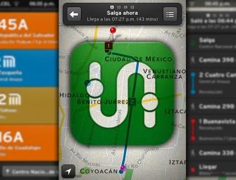 Tránsito: rutas y horarios de trasporte en tiempo real para la Ciudad de México.